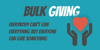 bulk-giving