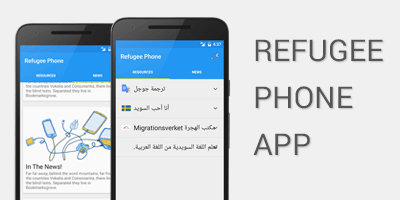 refugee-phone-installation